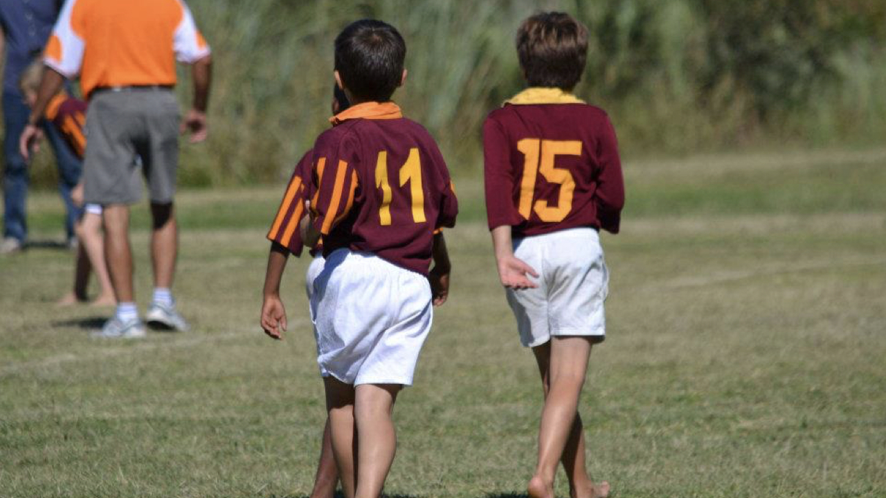Barefoot Rugby Boys Vol.3